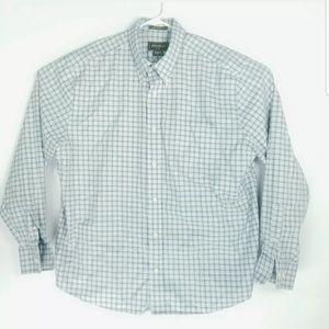 Eddie Bauer Mens XL Shirt Long Sleeve Stain Resist